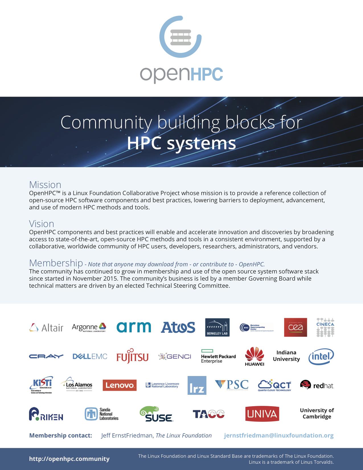 OpenHPC Software Overview (1 3 3) – OpenHPC